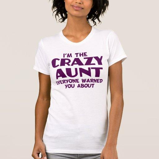 Crazy Aunt T Shirt Zazzle