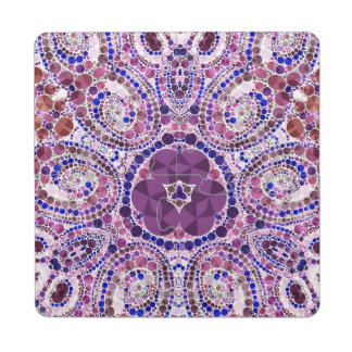 Crazy Beautiful Abstract Custom Puzzle Coasters Puzzle Coaster