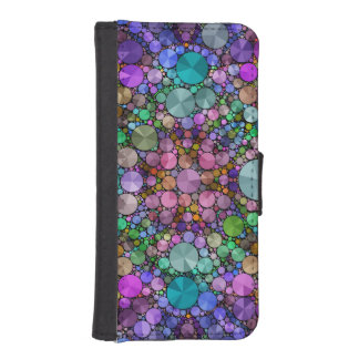 Crazy Beautiful Abstract iPhone5 Wallet Case