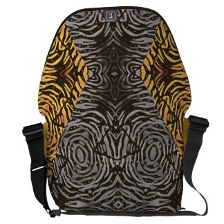 Crazy Beautiful Abstract Messenger Bag