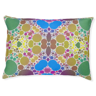 Crazy Beautiful Abstract Pattern Dog Bed Large Dog Bed