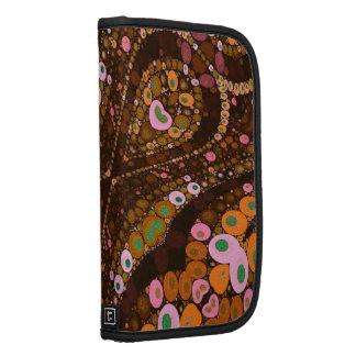 Crazy Beautiful Abstract Pattern Smartphone Folio Planner