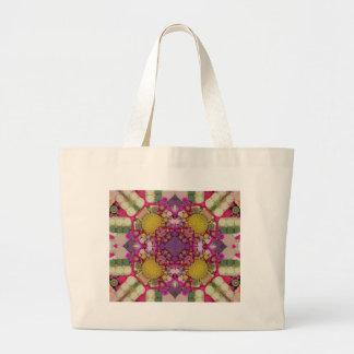 Crazy Beautiful Abstract Jumbo Tote Bag