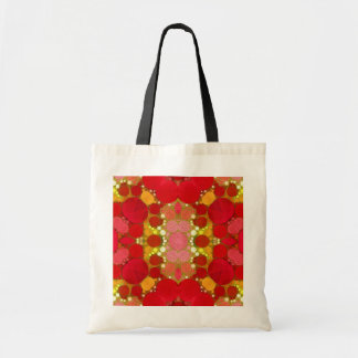 Crazy Beautiful Abstract Budget Tote Bag