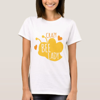 Crazy Bee lady T-Shirt