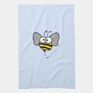 Crazy Bee Tea Towel