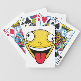 Crazy Bicycle Playing Cards