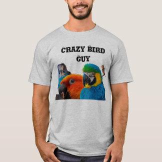 Crazy Bird Guy Tshirt