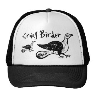 Crazy Birder Funny Bird Watcher Gift Cap