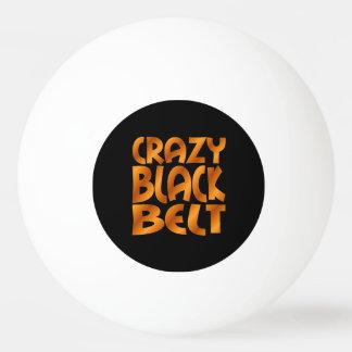 Crazy Black Belt in Gold
