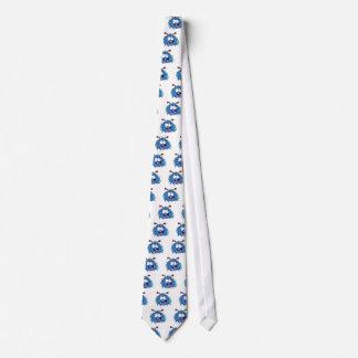 Crazy Blue Monster Tie