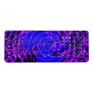 Crazy Blue Motion Wireless Keyboard