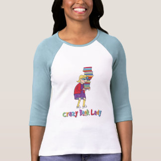 Crazy Book Lady Tees
