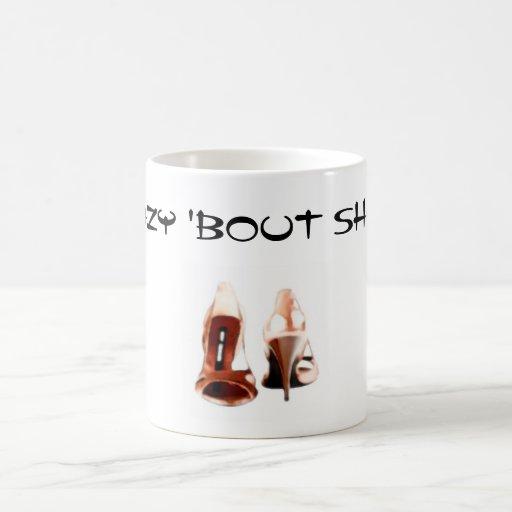 'Crazy 'bout shoes!' Mug