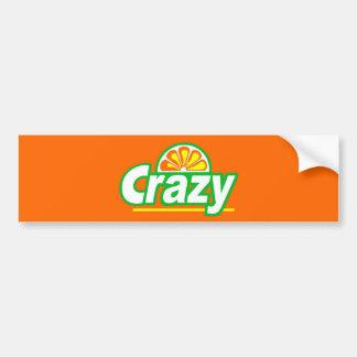 Crazy Bumper Sticker Car Bumper Sticker