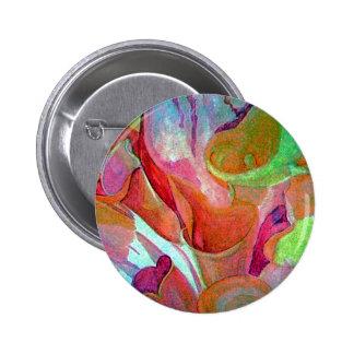 Crazy Calla Lilies jpg Pinback Buttons