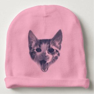 Crazy Cat Baby Beanie