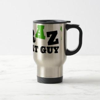 Crazy Cat Guy Travel Mug