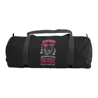 Crazy Cat Gym Bag