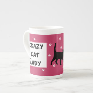 Crazy Cat Lady Bone China Mug