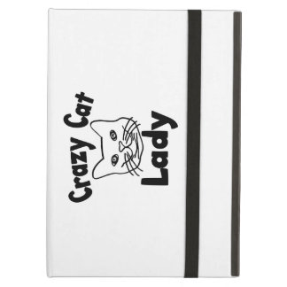 Crazy Cat Lady Cover For iPad Air