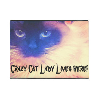 Crazy Cat Lady Door Matt Doormat