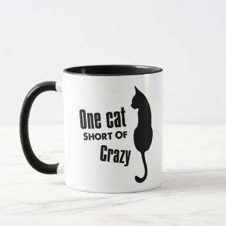 Crazy Cat Lady Funny Meow Coffee Mug