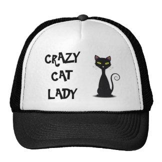 CRAZY CAT LADY HAT