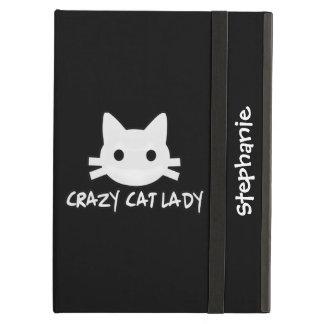Crazy Cat Lady iPad Air Cover