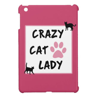Crazy Cat Lady iPad Case