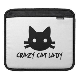 Crazy Cat Lady iPad Sleeve