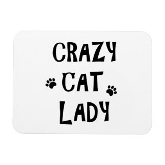 Crazy Cat Lady Magnet