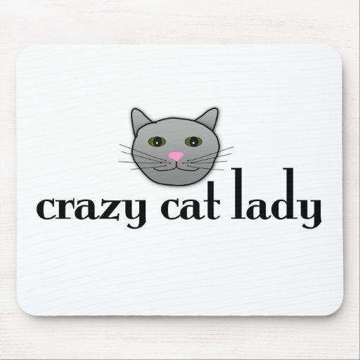Crazy Cat Lady Mouse Mats