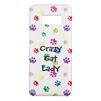 Crazy Cat Lady Rainbow Painted Paws Case-Mate Samsung Galaxy S8 Case