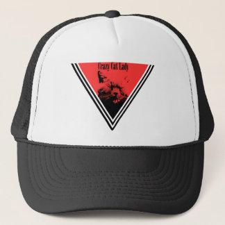 Crazy Cat Lady Triangle Trucker Hat