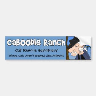 'Crazy Cat Man' Bumper Sticker