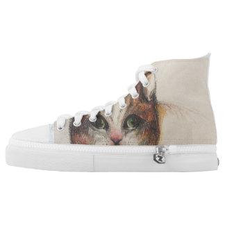 Crazy cat sneakers
