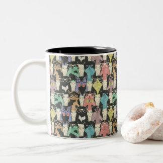 Crazy Cats in Classes Mug