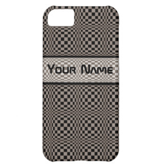Crazy Check Iphone4 case-mate case Cover For iPhone 5C