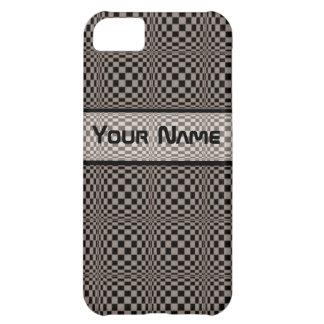 Crazy Check Iphone4 case-mate case iPhone 5C Case
