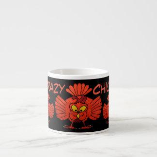 Crazy Chick Espresso Mug