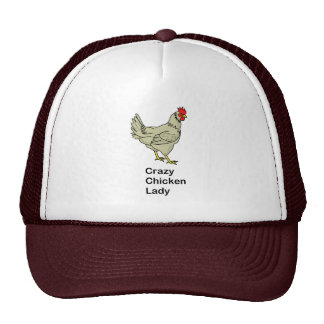 Crazy Chicken Lady Cap