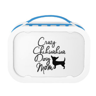 Crazy Chihuahua Dog Mom Lunchboxes