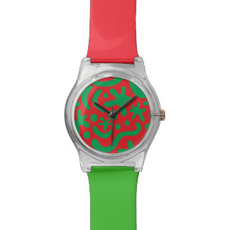 Crazy Christmas Blob & Squiggle Watch
