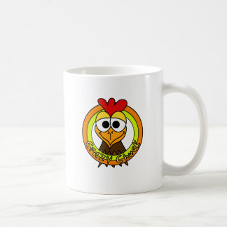 Crazy Chuck Chicken Head Coffee Mug