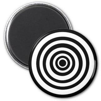 Crazy Circle 6 Cm Round Magnet