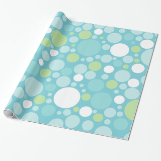 Crazy Circles Wrapping Paper