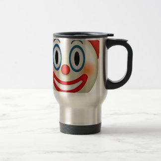 Crazy Clown Emoji Travel Mug
