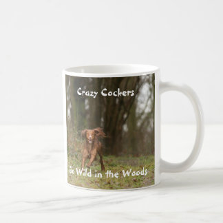 Crazy Cockers Go Wild in the Woods Coffee Mug