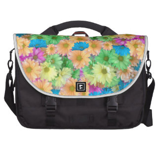 Crazy Color Carnations Bags For Laptop